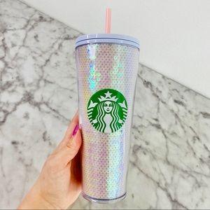 Starbucks Iridescent Sequin Tumbler Cup